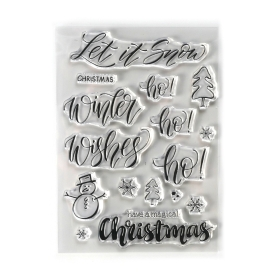 Snow Clearstamps