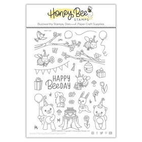 Happy Beeday Clearstamps