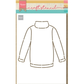 PS8076 - Craft Stencil Sweater