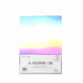 A4 Holographic Card - 10 vel