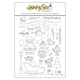 Santa's Village 6x8 Stamp Set