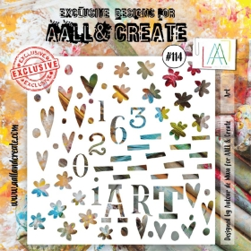 AALL And Create Stencil - 114