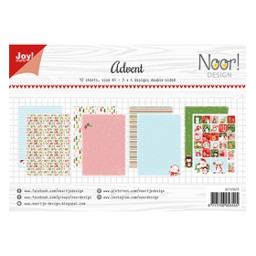 Papierset A4 - Design Advent