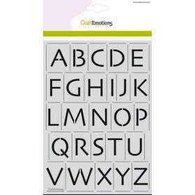 Stencil - Alfabet...