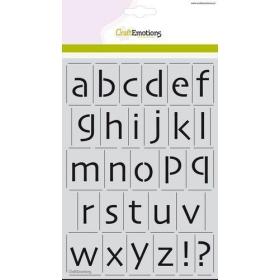 Stencil - Alfabet Kleine...