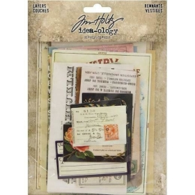 Tim Holtz Layers Renmants