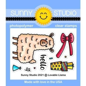 Lovable Llama Clearstamps