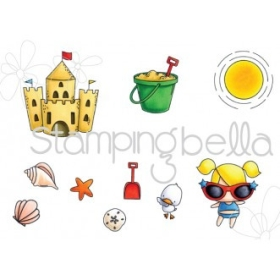 Sandcastle Set (10 cling...