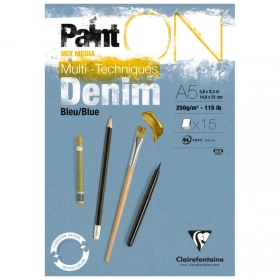 PaintON papier - Denim A5 -...