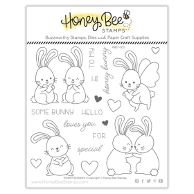 Honey Bunnies 6x6 Stamp Set
