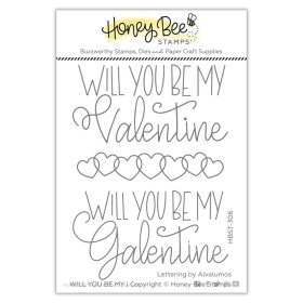 Will You Be My 3x4 Stamp Set