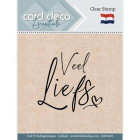 Clear Stamps - Veel Liefs