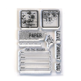 CS214 - Paper Love Clearstamps