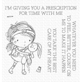 Care of My Heart Clearstamps