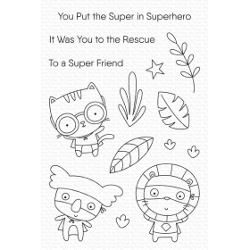 Super Friend Clearstamps