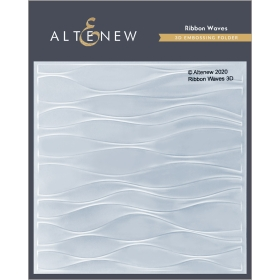 Ribbon Waves - 3d Embossing...