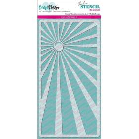 Stencil Slimline Zonnestralen