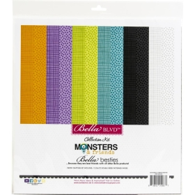 Monsters & Friends 12x12...
