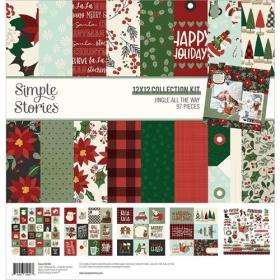 "Jingle All The Way 12x12""..."