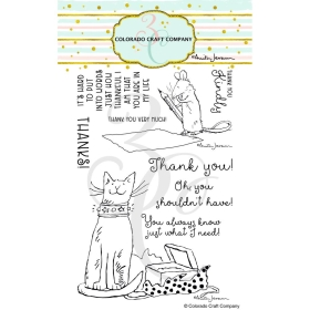 Thank You Clearstamps - By...
