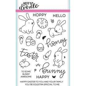 Honey Bunny Boo Clearstamps
