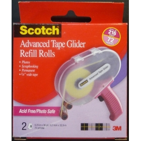 Scotch Advanced Tape Glider Refill Rolls