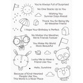 Weather With You Clearstamps