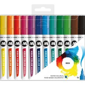 Molotow Aqua Color Brush Set 1