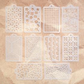 Happy Patterns Stencil Pack