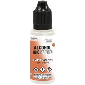 Alcohol Ink Fluro - Burnt...