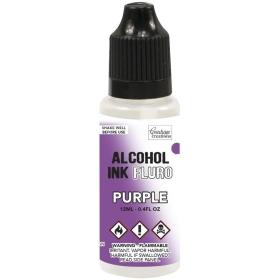Alcohol Ink Fluro - Purple
