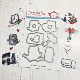 SET Smitten Kittens Stamps...