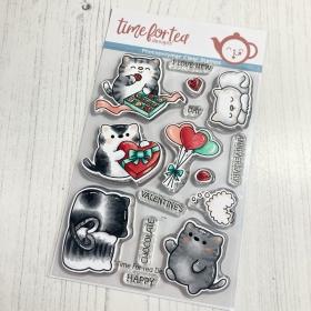 Smitten Kittens Clear Stamp...