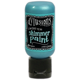 Calypso Teal - Shimmer Paint