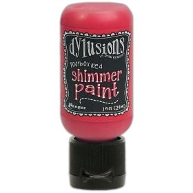 Postbox Red - Shimmer Paint