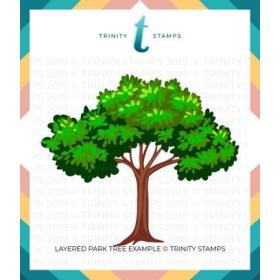 Layered Park Tree - 6x6...
