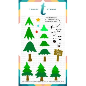Happy Little Tree Farm Die Set