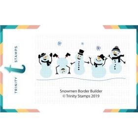 Snowmen Border Builder Die Set