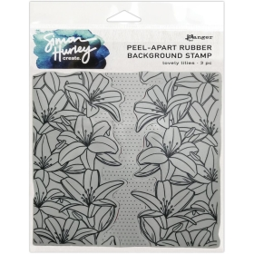 Lovely Lilies - Cling Stamps