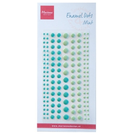 PL4519 - Enamel Dots - Mint