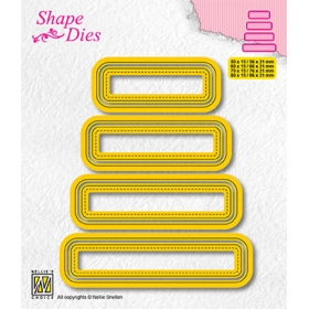 SD204 - Set of 4 Tags - 3