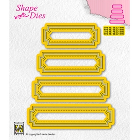 SD206 - Set of 4 Tags - 5