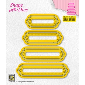 SD207 - Set of 4 Tags - 6