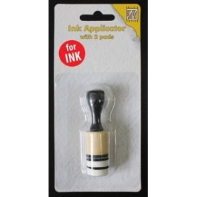 Ink Applicator With 2 Pads
