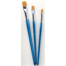 Hobby Brush Set 3 st.