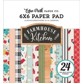 """Farmhouse Kitchen 6x6""""..."""