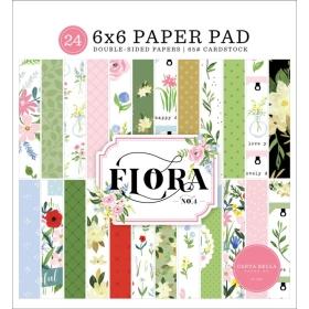"""Flora No.4 6x6"""" Paper Pad"""