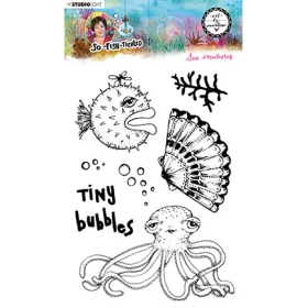 Clearstamp Sea Creatures...