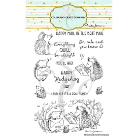 Hedgehog Day Clearstamps -...