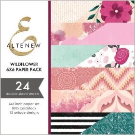 "Wildflower 6x6"" Paper Pack"